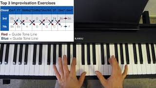 Top 3 Improvisation Exercises to Improve Your Soloing