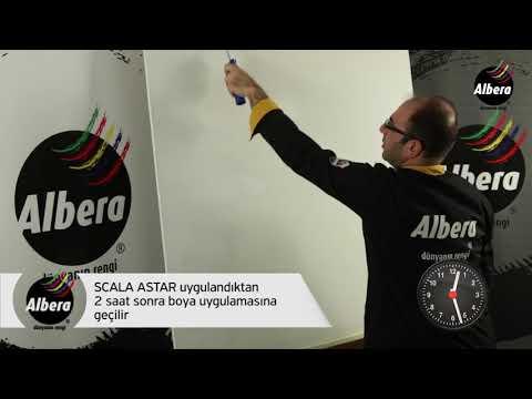 Albera Forte Grenli - Silikon Esaslı Elastik İpeksi Mat Dış Cephe Desen Malzemesi