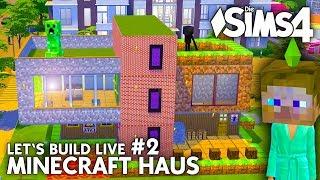 Minecraft Haus Bauen In Die Sims 4