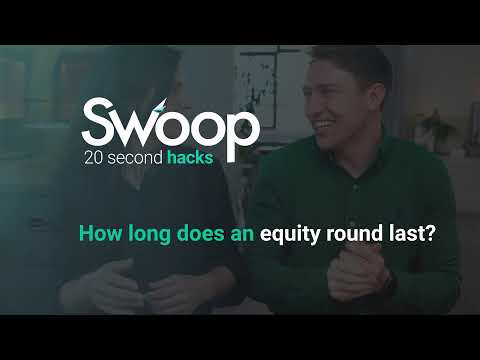 How long does an equity round last?