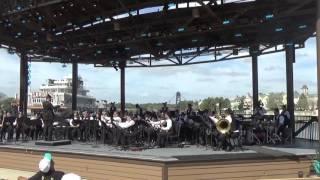 Pine Ridge High School Symphonic Band at Disney Springs Performing Arts 3 11 16