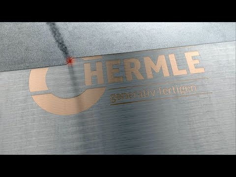 Hermle MPA technology: Additive manufacturing