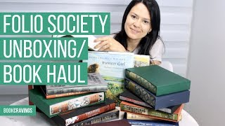 Unboxing Beautiful Books | Classics | Folio Society and More