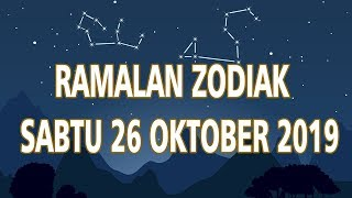 Ramalan Zodiak Sabtu 26 Oktober 2019