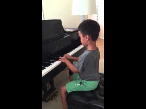 This little pianist is only 6 years old :)