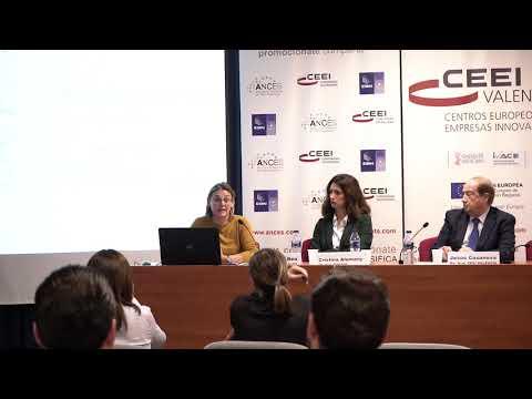 Cristina Alemany, de AFIN-SGR, en la jornada sobre ayudas y subvenciones de 2020 en CEEI Valencia[;;;][;;;]