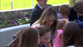 LIVE: First Lady Melania Trump reads to children at Children's National Health System