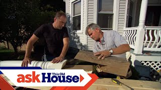 How To Repair A Rotted Porch Post | Ask This Old House