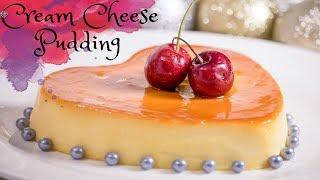Cream Cheese Pudding Recipe In Bangla /Cream Cheese Flan/Cheesecake Flan/চুলায় তৈরী ক্রিম চিজ পুডিং