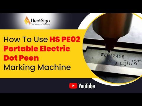 Small hand engraving machine