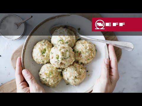 NEFF Rezepte: Semmelknödel aus dem Dampfgarer