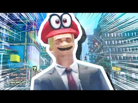 MARIO TURNS INTO A HUMAN!!! (Super Mario Odyssey #4)