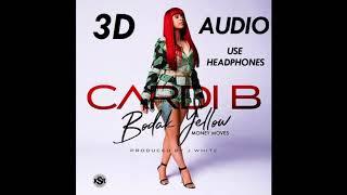 (3D AUDIO) Cardi B   Bodak Yellow (USE HEADPHONES!!)