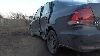 Volkswagen Polo кузовной ремонт Часть 1
