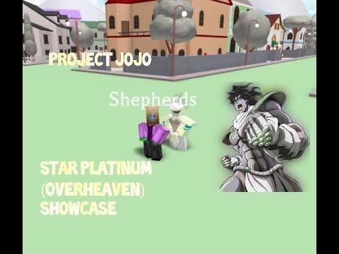 Roblox Star platinum Script (Full showcase) - смотреть