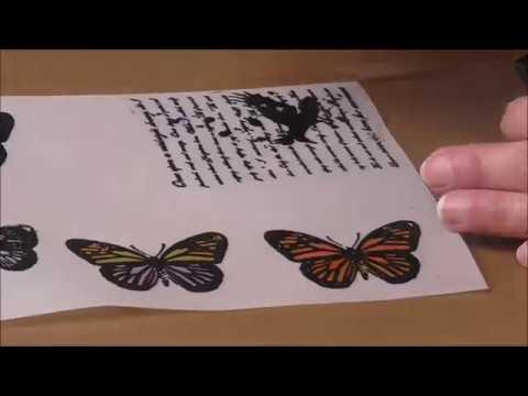 Basteln  mit Pergamentpapier