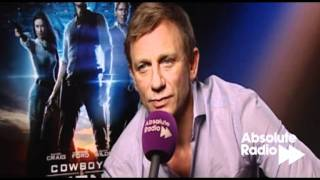 Daniel Craig talks Cowboys and Aliens and Harrison Ford