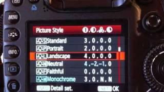 Optimum Camera Settings for CANON