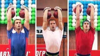 [90 kg] Kettlebell sport championship of Russia 2008 (long cycle)