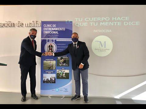 La Diputación de Málaga impulsa un curso de entrenamiento emocional en las escuelas deportivas municipales
