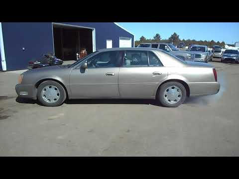 2002 cadillac deville dhs we sell your stuff inc auction 43 k bid k bid com