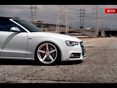 Audi S5 Cabriolet | Zito Wheels ZS02