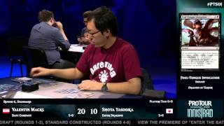 Pro Tour Shadows over Innistrad Round 6: Valentin Mackl vs. Shota Yasooka