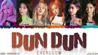 EVERGLOW - 'DUN DUN' Lyrics [Color Coded_Han_Rom_Eng]