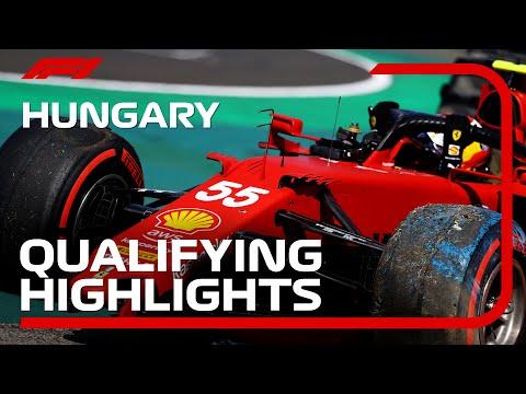 F1第11戦ハンガリーGP(ブタペスト)予選タイムアタックのハイライト動画