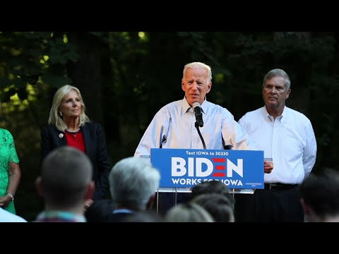 Joe Biden is defending the Affordable Care Act, challenging not just President Trump but also some Democrats who want to replace the current system with a fully government-run model. Biden, in Iowa, also blasted President Trump's character. (July 16)