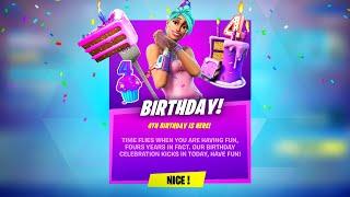 CLAIM FREE REWARDS NOW! FORTNITE BIRTHDAY CHALLENGES (Birthday Cake Locations)