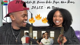 DJ Speedsta   No Stress Ft. Zoocci Coke Dope, Una Rams, Da L.E.S.   REACTION   SOUTH AFRICAN HIP HOP