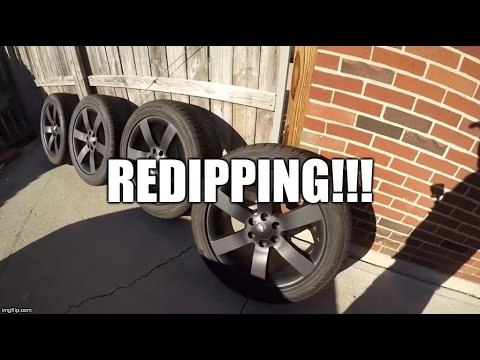 Re-Dipping Trailblazer SS Wheels