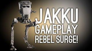 Star Wars Battlefront Jakku Gameplay: Let's Play Battle of Jakku DLC - REBEL SURGE!!