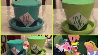DIY Alice In Wonderland Decoration   Mad Hatter