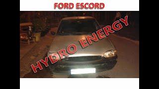Ford Escord hidrojen yakıt tasarruf montajı