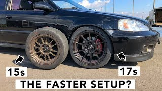 Is Bigger Better? 15 Inch Vs 17 Inch Wheels & Tires