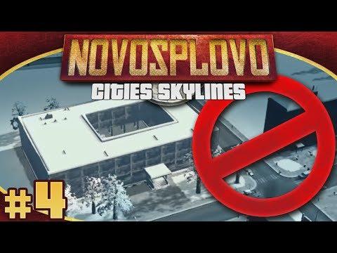 Cities Skylines Novosplovo #4 - Education Is Dangerous