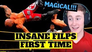 MMA FAN REACTS TO RICOCHET FOR THE FIRST TIME (insane...)