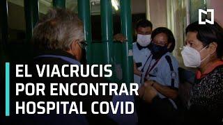 Pacientes con COVID-19 esperan horas para recibir atención en hospitales de CDMX - En Punto