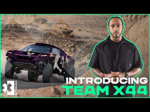 Introducing... TEAM X44 | Lewis Hamilton's Team Joins Extreme E!