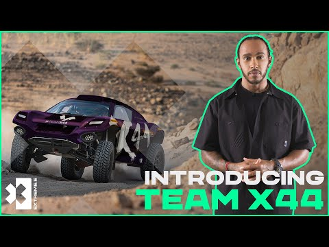 Introducing... TEAM X44 | Lewis Hamilton's Team Joins Extreme E!