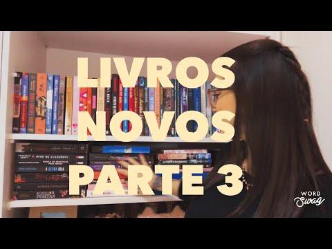 LIVROS NOVOS PARTE 3 - UNBOXING