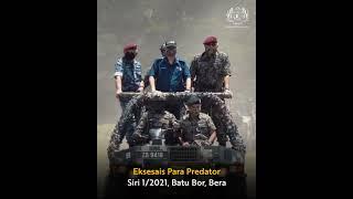 Eksesais Para Predator pasukan elit 10 Briged Para – 28 Ogos 2021