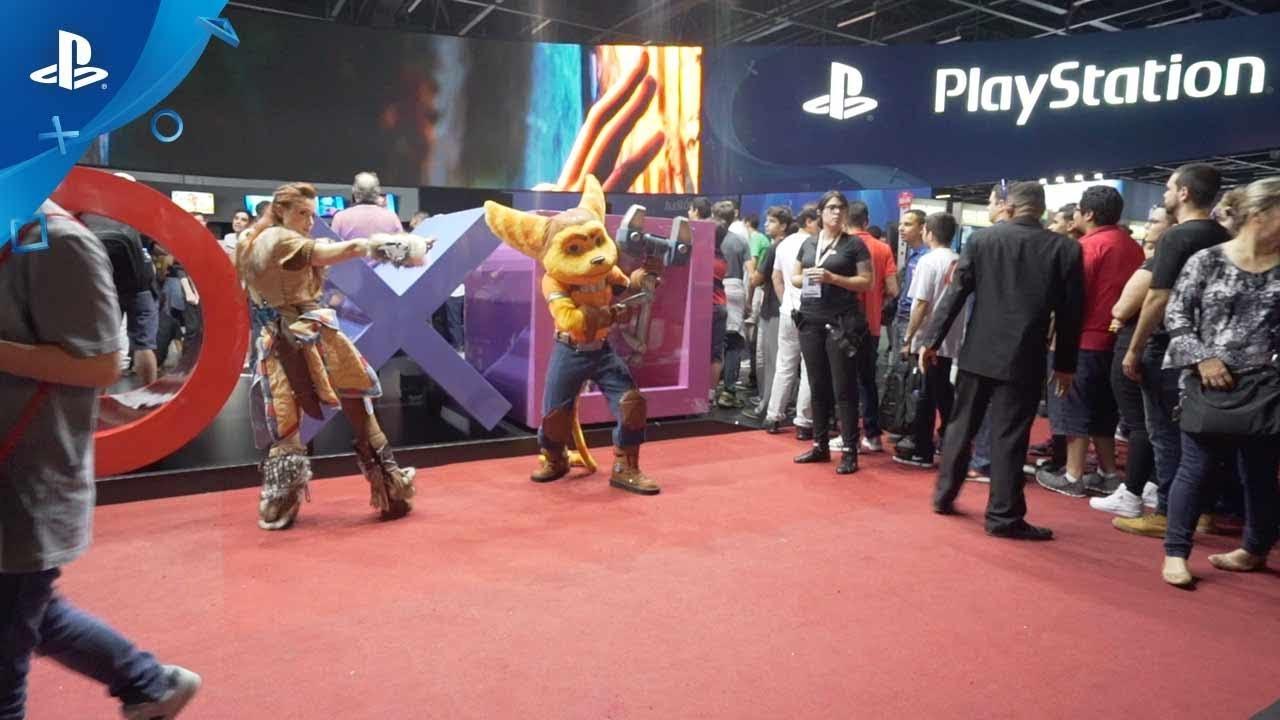A PlayStation estará presente na Brasil Game Show 2017!