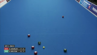 Just. 2019 World Indoor Bowls Championships: Day 6 Session 2