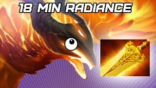 Dota 2 - 18 Min Radiance For The Mighty Birb