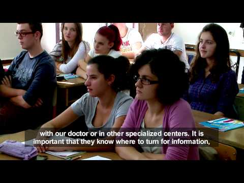 Video Adolescent Sexual Reproductive Health Albania