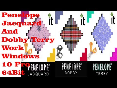 Penelope Jacquard Dobby Terry 9.1.5.37 Work Windows 10 x64