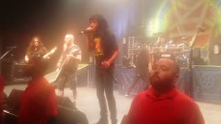 """4-8-2017 Anthrax """"I am the Law"""" full live song at Detroit fillmore"""